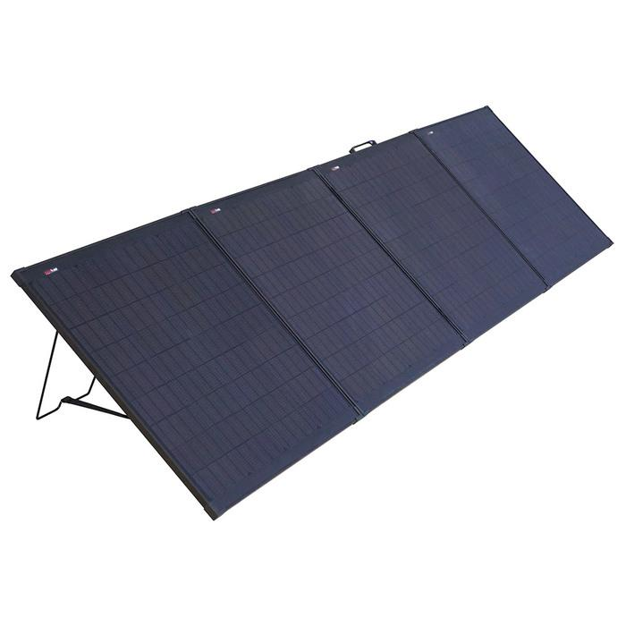 Outdoor folding solar panel 01