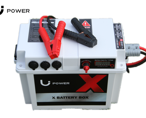 4 battery box with jump start lead