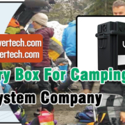 12V Battery Box For Camping in China Outdoor System Company