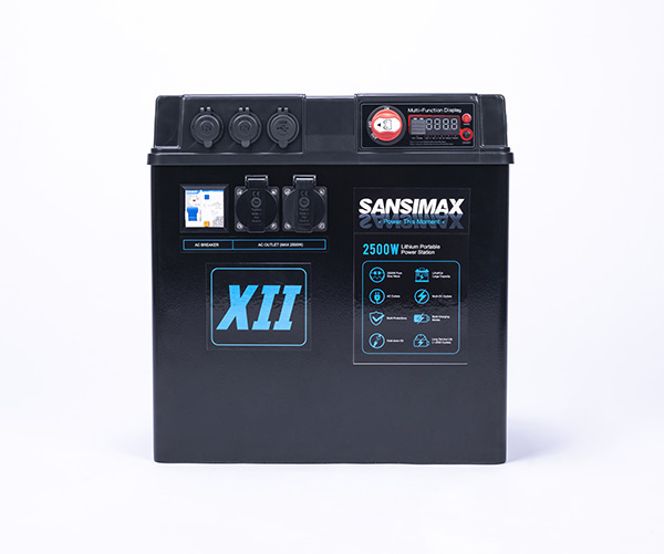 2500W Lithium Portable Power Station XII - 240ah1