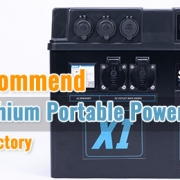High Recommend 2500W Lithium Portable Power Station from China Factory Li Power