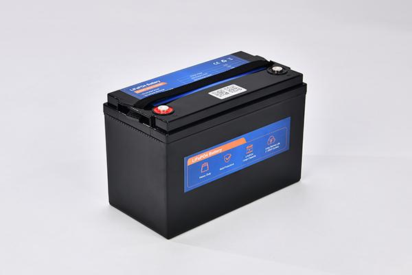 12.8V 100AH2 LiFePO4 battery