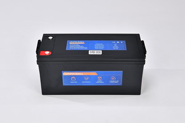 12.8V 250AH1 LiFePO4 battery